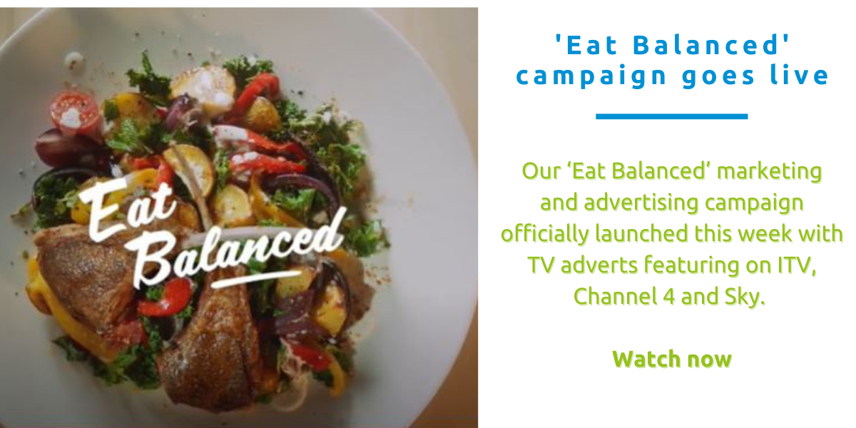 Eat Balanced marketing campaign goes live