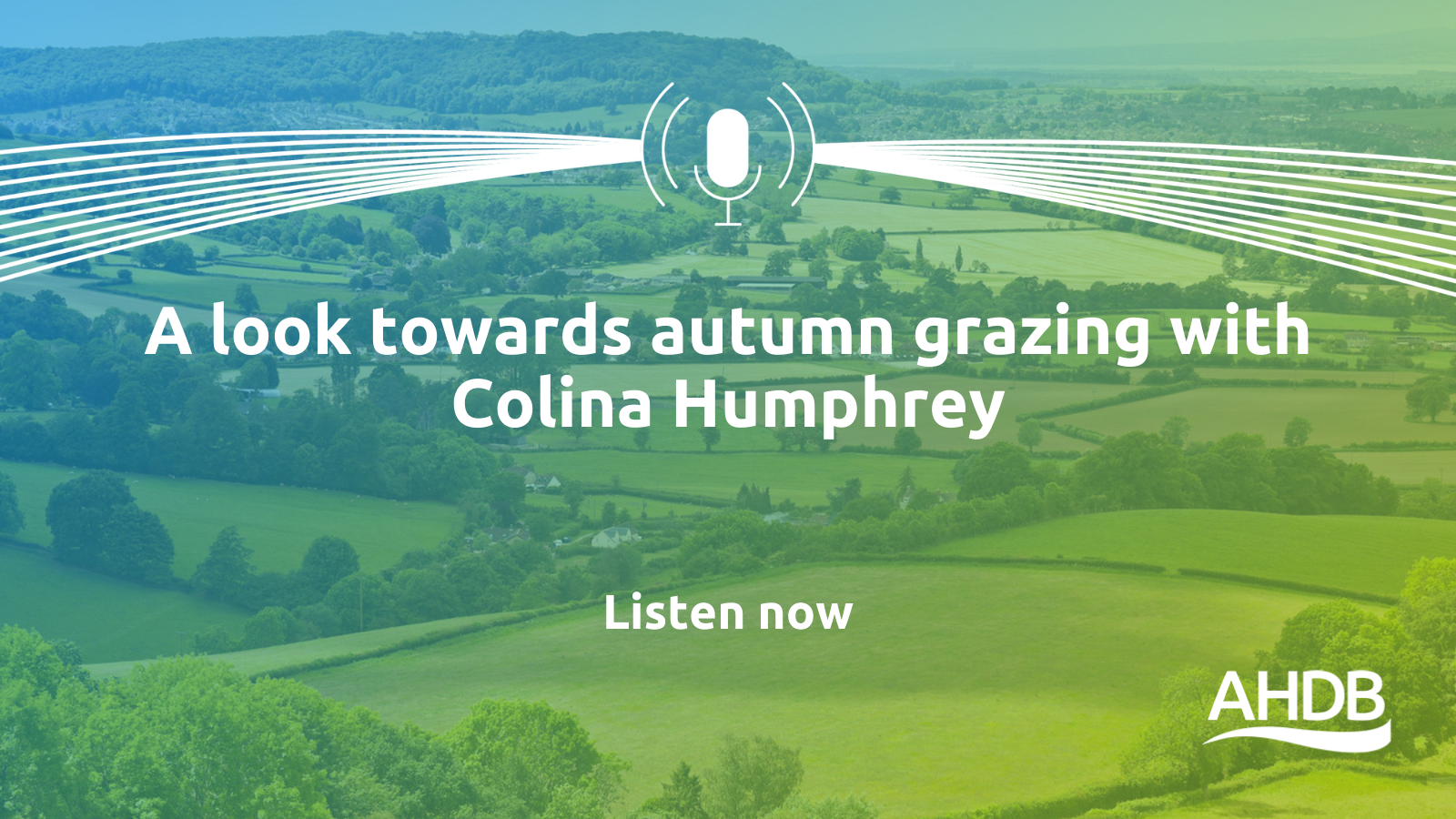 In this episode of the Food & Farming podcast, Nic Renison talks to Colina Humphrey, sheep farmer and self-confessed grass addict