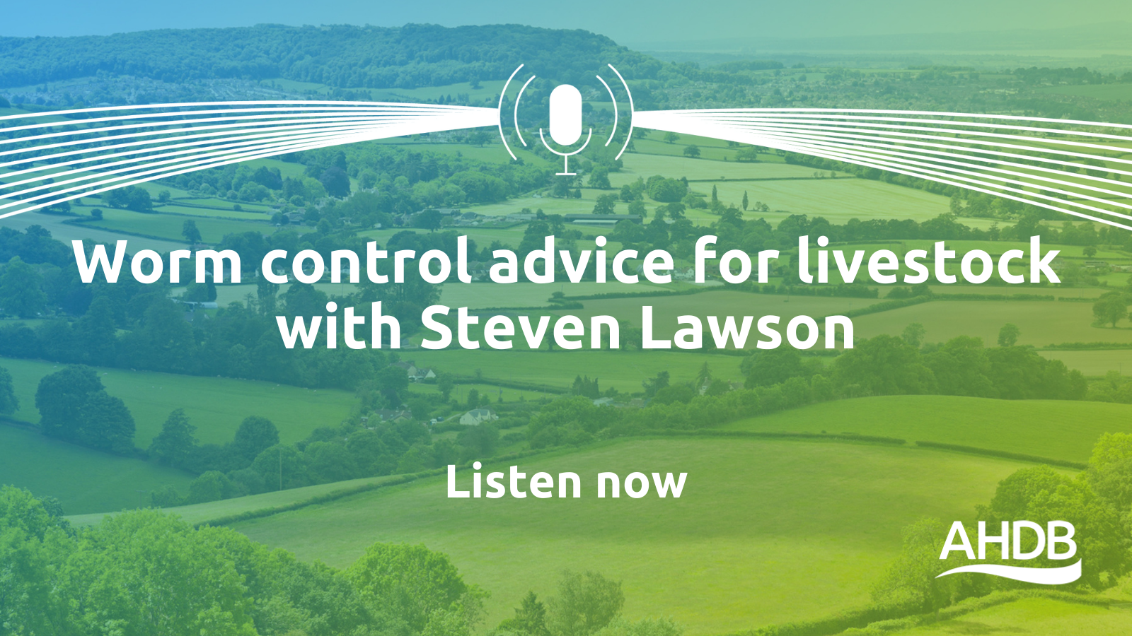 This podcast explores how Steven Lawson manages worms and other parasites in his livestock.