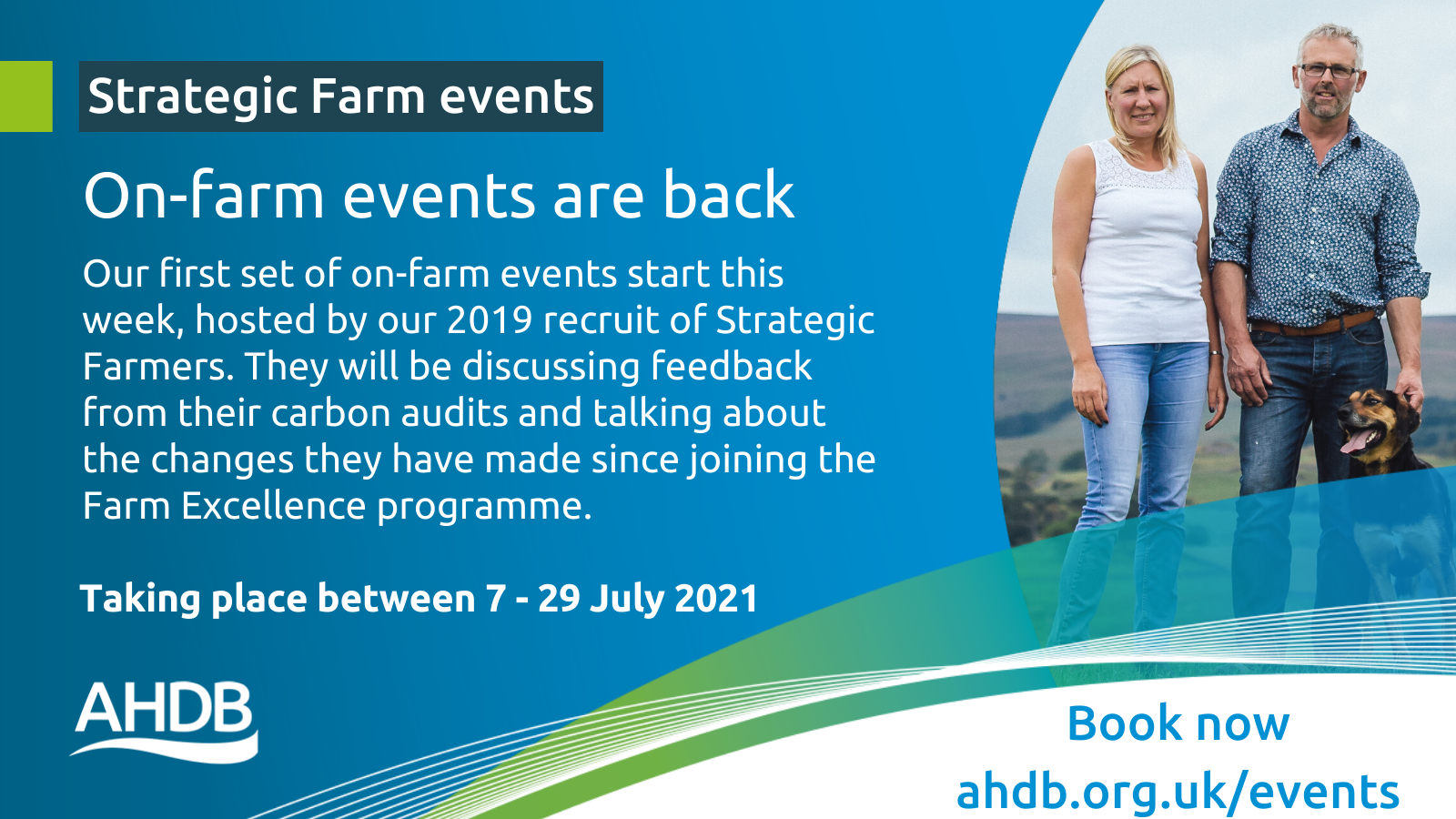 On-farm events are back