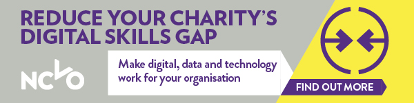 Reduce your charity's digital skills gap. Make digital, data and technology work for your organisation.
